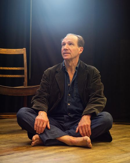 Ralph Fiennes stars in Four Quartets by T.S. Eliot at Cambridge Arts Theatre from Monday, June 28 to Saturday, July 10.