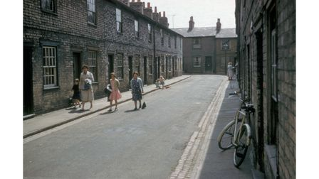 "Little Portman Street is one of the ""Lost Streets of Ipswich"" images which are being restored"