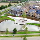 Artist impression of Wintringham Park in St Neots.