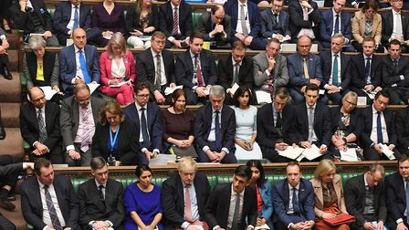 Tory MPs in the House of Commons on Budget Day (11th March 2020). Photograph: UK Parliament/Jessica