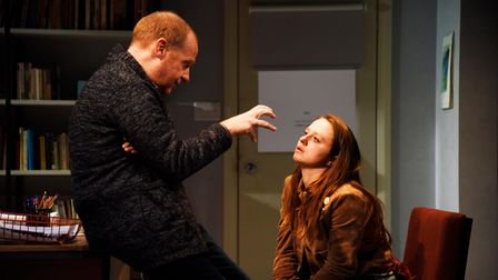 Oleanna by David Mamet can be seen at Cambridge Arts Theatre from Tuesday, June 8 toSaturday,June 12.