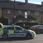 police at the scene in coolfin road