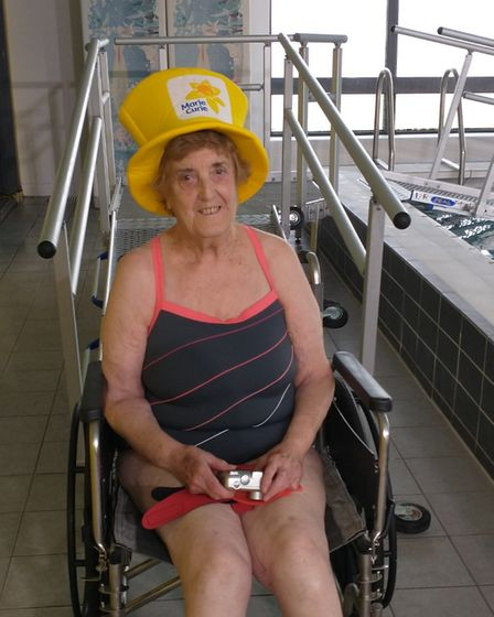 Betty Brown fundraising feat despite polio and cancer