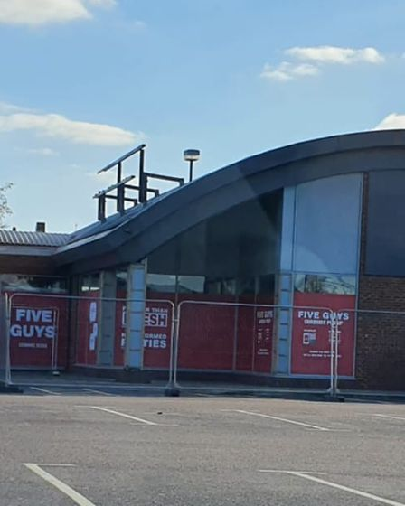 Five Guys is set to open this May, replacing Pizza Hut in Stevenage's Leisure Park