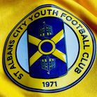 St Albans City Youth Football Club crest badge logo