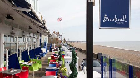 Lunch with a view from The Brudenell in Aldeburgh