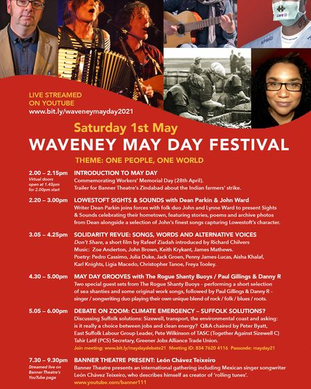 waveney may day festival