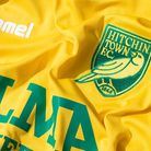 Hitchin Town FC new badge crest logo
