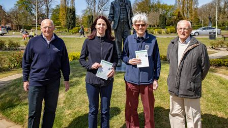 A map was launched marking the WGC Orienteering Photo Trail
