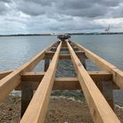 Shotley Pier is set for a public reopening at the end of May.