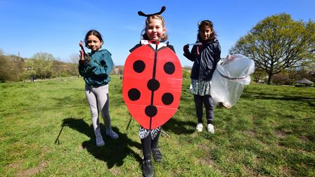 Ash Class at Brookfield School celebrate Earth Day by joining Heath Hands on the Heath