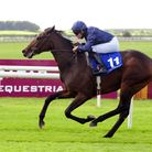 Santa Barbara and Seamie Heffernan win The Irish EBF Median Sires Series Maiden in September