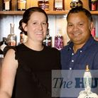 Francis and Lois Barreto of The Three Tuns pub in Fen Drayton.
