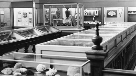 Early 20th century displays at the museum