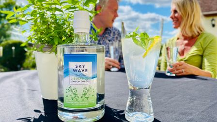 Liberation London Dry Gin by Sky Wave Distillery in Bicester