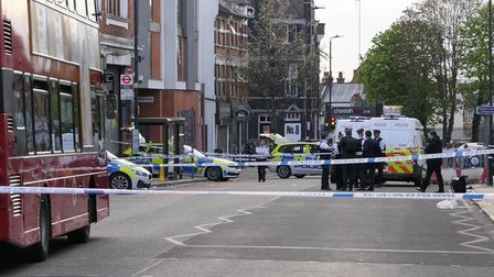 Cordons remained in place the morning after a man, 40, was fatally stabbed in Willesden