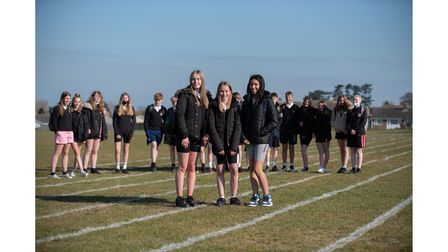 Students at Claydon High School had a shorts day in memory of their teacher