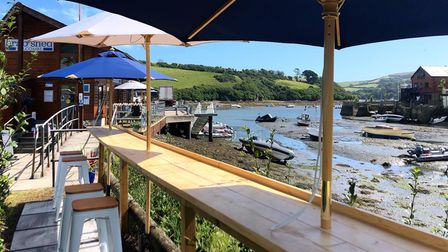 The Crab Shed, Salcombe, Devon.