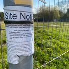 This grassy verge on the corner of Harts Farm Road and Postmill Close in Wymondham is set to be turned into a car dealership.