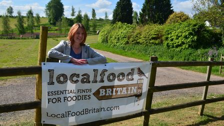 Local Food Britain founder Tracy Carroll at Priory Farm