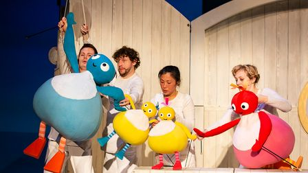 Twirlywoos, as seen on CBeebies, are coming toHertford Theatre in June.