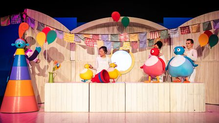 Twirlywoos Live! can be seen at socially distanced shows at Hertford Theatre on June 4 and June 5.