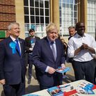 Boris Johnson in Romford