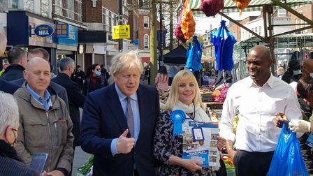 Boris and Shaun Romford