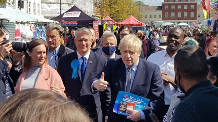 Boris in Romford