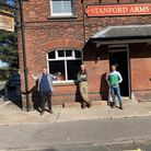 The boys couldn't be more excited to get The Stanford Arms up and running after three successful years on Norwich Market