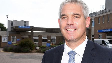 MP Steve Barclay is satisifed with assurances that minor unjury units at North Cambs Hospital (pictu