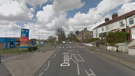 A man was found with a head injury in an alleyway near the car wash on Havers Road in Norwich