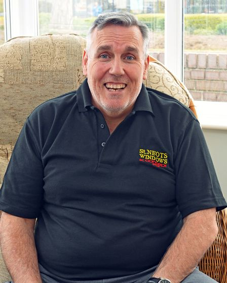 John Woods, joint owner of St Neots Windows.