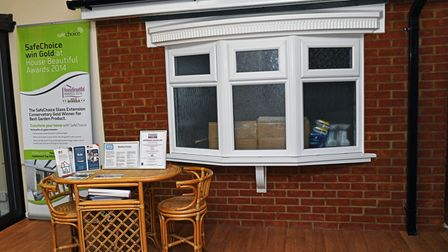 One of the showrooms at St Neots Windows.