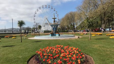 The English Riviera Big Wheel is back for the summer