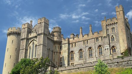 Arundel Castle in Arundel, West Sussex