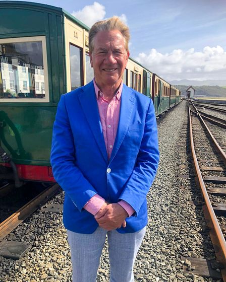 Michael Portillo presents Great British Railway Journeys on BBC Two.