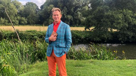 Michael Portillo in Dedham in series 12 of Great British Railway Journeys.
