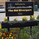 The Old Riverport area in St Ives.