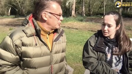 Chris Packham and Megan McCubbin discussed the Western Link on their livestream on YouTube on Sunday morning