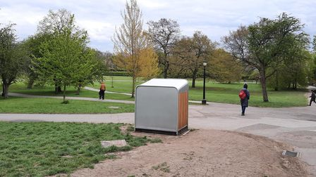 One of the new bins in Primrose Hill