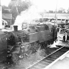 Feniton station in the days of steam