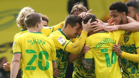 XaviQuintilla takes the acclaim after his starring role in Norwich City's title-sealing Championship win over Reading