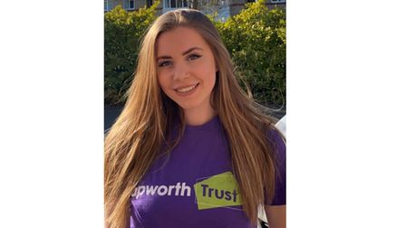 Zoe has been working for the Papworth Trust for more than seven months