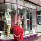 Sally Allen's fashion boutique in Torwood Street, Torquay
