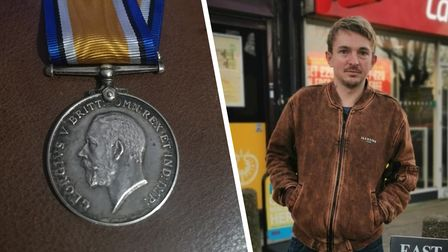 Adam Simpson-York has reunited another family with a war medal belonging to one of their relatives.