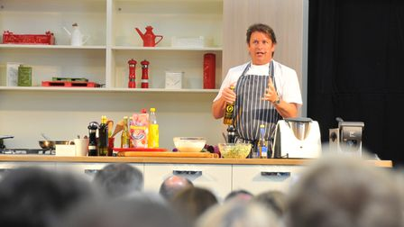 Royal Norfolk Show 2014. Chef James Martin who demonstrated his skills in the food hall. Photo by S