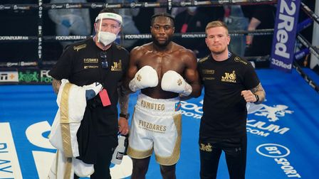 Finchley boxer Jonathan Kumuteo bags a win on professional debut