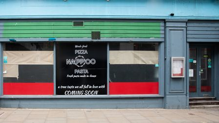 Nappoo, a brand new wood-fired pizza and pasta restaurant is opening in Northgate Street, Ipswich.