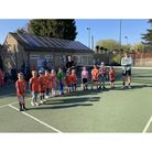Backwell Tennis Club holding their first Youth Start class